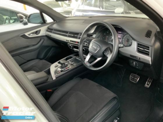 2016 AUDI Q7 3.0 TDI S line Quattro power boot back camera electric seat Audi drive select unregistered