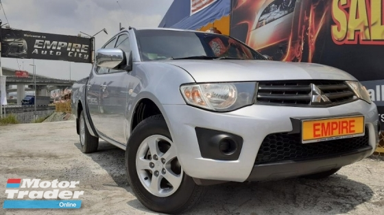 2014 MITSUBISHI TRITON 2.5 LITE (M) L200 DUAL CAB PICKUP DIESEL TURBO !! 4 X 2 !! NEW FACELIFT !! PREMIUM HIGH SPECS !! ( X 7921 X ) 1 CAREFUL OWNER !!