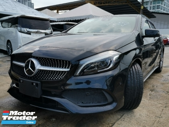 2016 MERCEDES-BENZ A-CLASS A180 AMG SPORT JAPAN SPEC UNREG