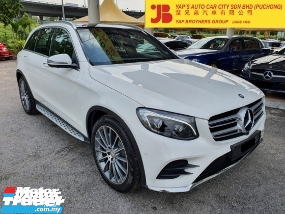 2016 MERCEDES-BENZ GLC GLC250 4MATIC Full Spec Local Warranty Till Year 2020 Sept