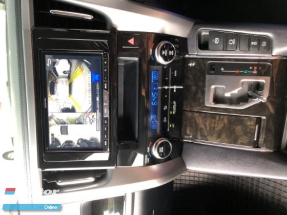 2015 TOYOTA ALPHARD Unreg Toyota Alphard SC 2.5 7seather 360view PowerBoot Push Start 7G