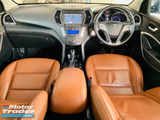 2014 INOKOM SANTA FE SANTA FE EXECUTIVE 2.4 4WD PETROL FULL SERVICE RECORD BY HYUNDAI MALAYSIA 1 VIP SENIOR MALAY OWNER