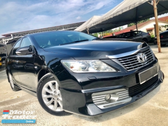 2014 TOYOTA CAMRY 2.0 G (A) FACELIFT FULL SPEC SUPER FUEL SAVE