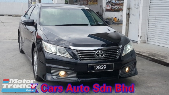 2014 TOYOTA CAMRY 2.0 G Facelift Push Start Black Interior Car Keep Excellent Condition Accident Free No Repair Need Worth Buy