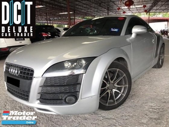 2010 AUDI TT 2.0 TFSI (A) R8 FULL SET  SPEC LEATHER SEAT LOW MILLAGE ONE OWNER MALAY REVERSE CAMERA PLAYER