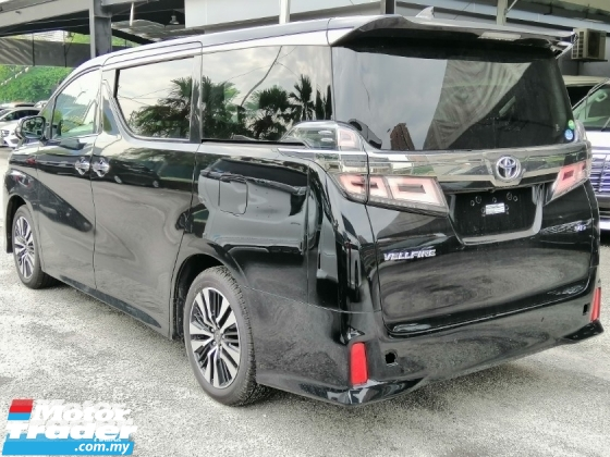 2018 TOYOTA VELLFIRE 3.5Z G EDITION ALPINE SET NEW CAR JAPAN S GRADE UNIT