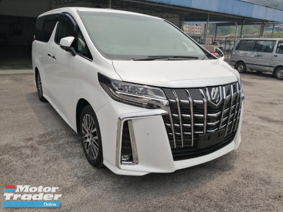 2017 TOYOTA ALPHARD 2.5 SC New Face-lift Sunroof Leather Cover Unregistered