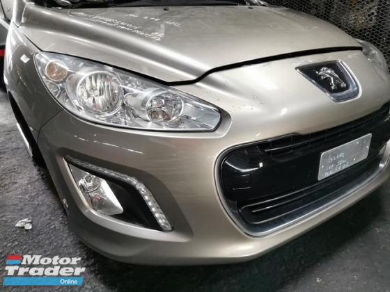 PEUGEOT 308 1.6 TURBO 6SPEED FACELIFT HALF CUT