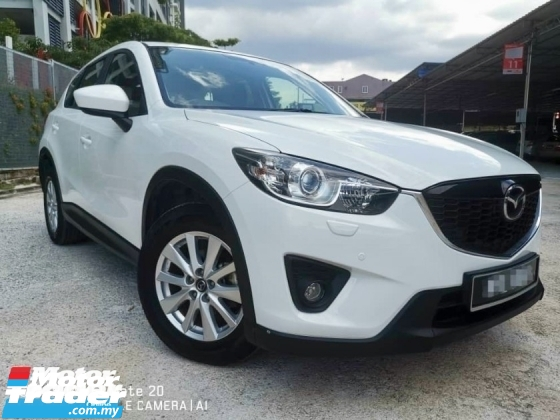 2013 MAZDA CX-5 CBU 2.0 AWD (A)SUV (2 YEAR WARRANTY)(TRUE YEAR MAKE)(ONE OWNER)(LOW MILEAGE)