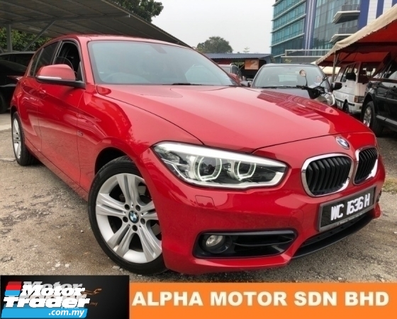 2015 BMW 1 SERIES 118I 1.5 (A) SPORT LINE F20 TURBO