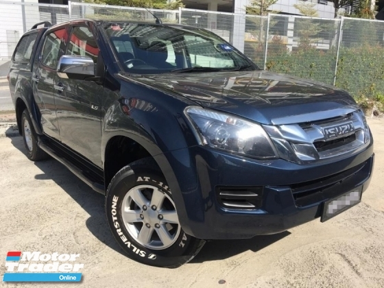 2016 ISUZU D-MAX 2.5L 4X2 MT DOUBLE CAB 2 YEAR WARRANTY (LOW MILEAGE)(ONE OWNER)(TURBO ENGINE)