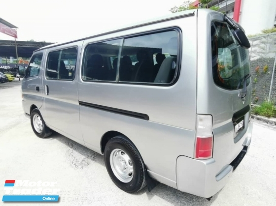 2013 NISSAN URVAN 3.0 MICROBUS (M) WINDOR VAN TIP TOP(TRUE YEAR)(LOW MILEAGE)