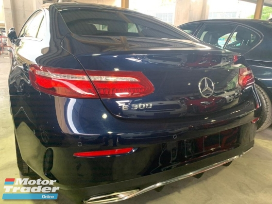 2018 MERCEDES-BENZ E-CLASS 300 COUPE AMG LINE 0%SST 2.X% INTEREST RATE NEW ARRIVAL RECON UNREGISTER