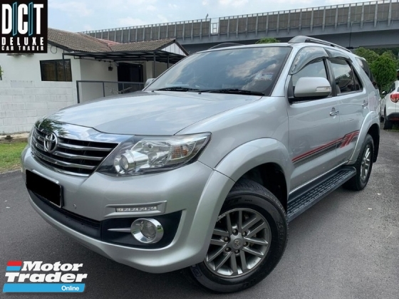 2016 TOYOTA FORTUNER 2.7V PREMIUM HIGH SPEC ONE OWNER LOW MILEAGE TIPTOP CONDITION LIKE NEW CAR