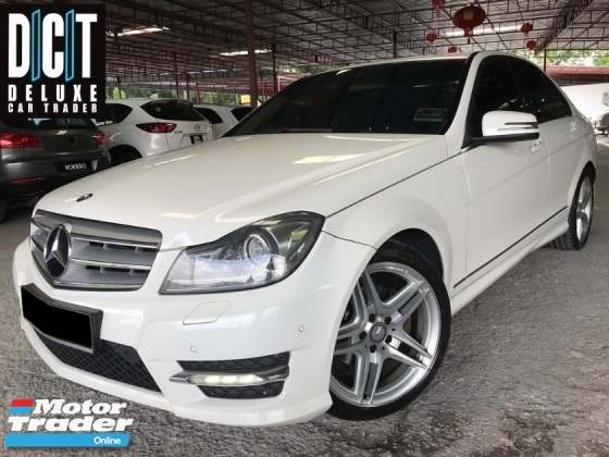 2014 MERCEDES-BENZ C-CLASS C200 AMG LOCAL HIGH SPEC ONE OWNER LOW MILEAGE TIPTOP CONDITION LIKE NEW CAR
