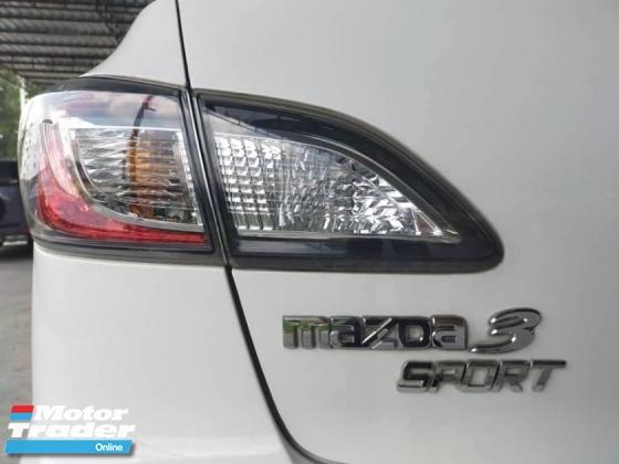 2014 MAZDA 3 SPORT 1.6 SDN CKD HIGH SPEC ONE LADY TEACHER OWNER 99%LIKE NEW CAR