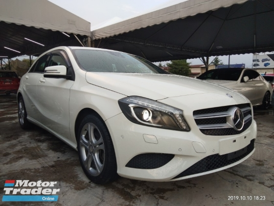 2014 MERCEDES-BENZ A-CLASS A180 SE & AMG 1.6TURBO on the road price 全包价格RM119,888.888 1year warranty