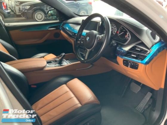 2015 BMW X6 3.0 40D M sport sunroof 4 camera head up display Harman Larson power boot unregistered