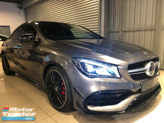 2017 MERCEDES-BENZ CLA 45 AMG 2.0 4MATIC - Unreg - 0% SST - Japan Mercedes-Benz Certified Cars - Push Start - Harmon Kardon Sound System