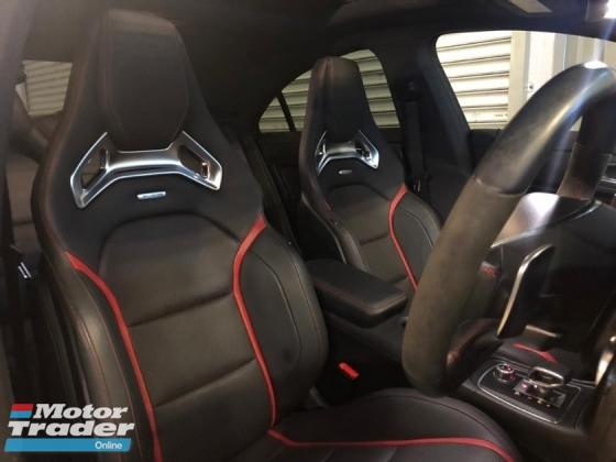 2017 MERCEDES-BENZ CLA 45 AMG 2.0 4MATIC - Unreg - 0% SST - Japan Mercedes-Benz Certified Cars - Push Start - Harmon Kardon Sound System