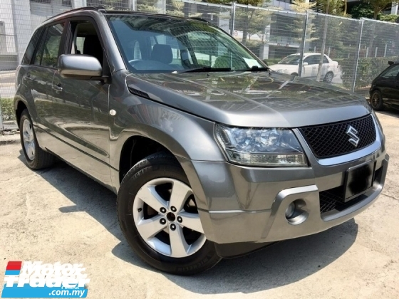 2008 SUZUKI GRAND VITARA 2.0 AT FACELITE (TRUE YEAR MAKE)(2 YEAR WARRANTY)(ONE OWNER)(LOW MILEAGE)