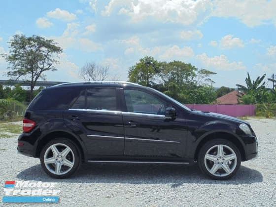 2011 MERCEDES-BENZ ML ML300 3.0 FACELIFT W164 AMG SUNROOF POWERBOOT NAVI REVERSECAMERA LIKENEW CBU