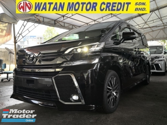 2015 TOYOTA VELLFIRE 2.5 ZG 360 CAMERAS PRICE INC SST JAPAN UNREG