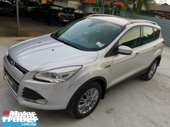 2013 FORD KUGA 1.6 GTDI ECOBOOST (A) - Sport / Power Boot / True Year Made