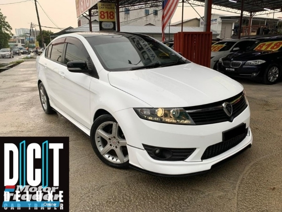 2014 PROTON PREVE CFE PREMIUM TURBO LIMITED EDITION PADDLE SHIFTER NAVI GPS KEYLESS PUSH START