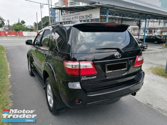 2010 TOYOTA FORTUNER 2010 Toyota FORTUNER 2.5 G (A) 4WD DIESEL TURBO