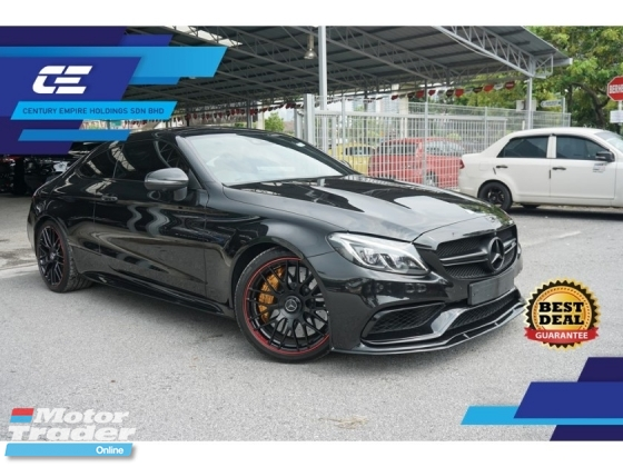 2016 MERCEDES-BENZ C63 S EDITION 1 AMG PACKAGE PERFORMANCE EDITION Unregister