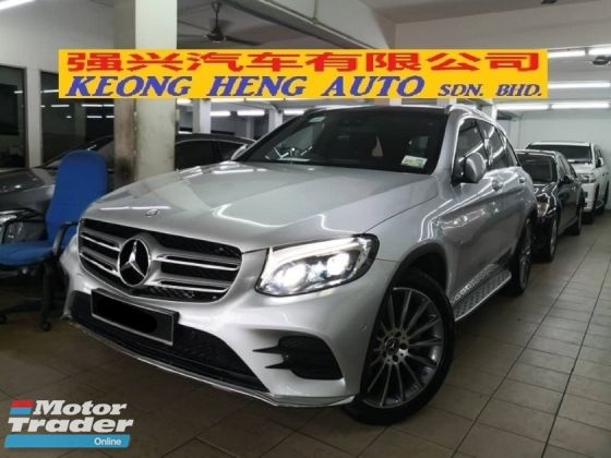 2017 MERCEDES-BENZ GLC 250 AMG Line CKD TRUE YEAR MADE 2017 MIl 16000 km only Hap Seng Service Factory Warranty to May 2021