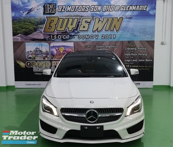 2015 MERCEDES-BENZ CLA 2015 MERCEDES BENZ CLA180 1.6 AMG TURBO FACELIFT UNREG JAPAN CAR SELLING PRICE ONLY RM 169,000.00