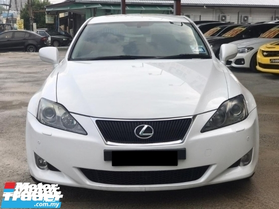 2010 LEXUS IS LUXURY PREMIUM SPECIAL EDITION FACELIFT FULL SPEC ONE OWNER TIPTOP CONDITION LIKE NEW