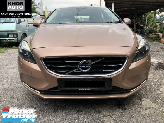 2016 VOLVO V40 2.0 T5 Facelift Under Warranty Free Service