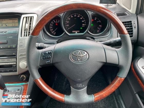 2004 TOYOTA HARRIER 240G PREMIUM L PACKAGE