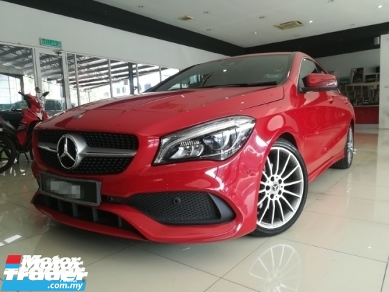 2017 MERCEDES-BENZ CLA 200 AMG LINE LOCAL C&C WARRANTY