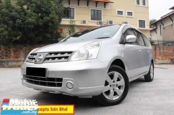 2010 NISSAN GRAND LIVINA 1.6 (A) Ori Year Make 2010 Leather Seats 1 Owner