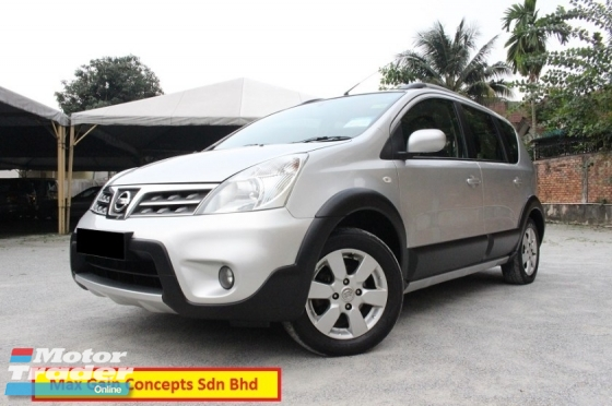 2011 NISSAN X-Gear 1.6 (A) Impul Premium 1 Owner Full Loan 7 Years