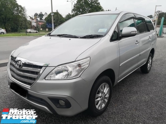 2016 TOYOTA INNOVA 2.0 G NEW FACELIFT TOUCHPLAYER WITH ROOF MONITOR