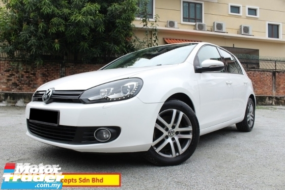 2011 VOLKSWAGEN GOLF 1.4 TSi (A) Light  Sound Edition (Super Low Mileage 59k Km Only)(Full Loan 7 Yrs)