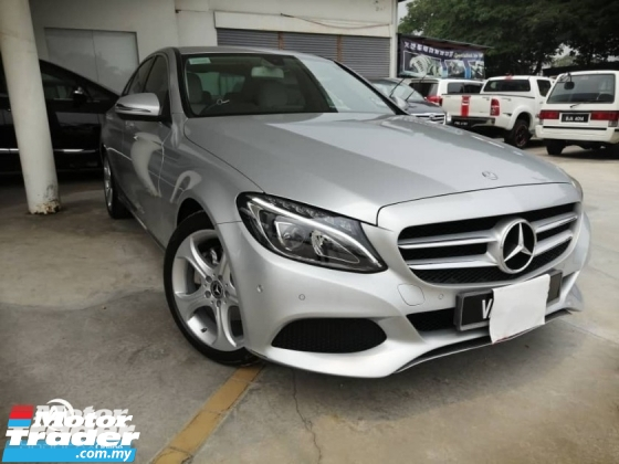 2017 MERCEDES-BENZ C-CLASS C200 BLUE EFFICIENCY AVANTGARDE