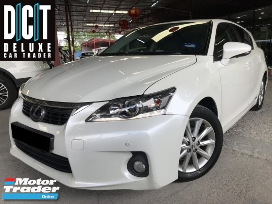 2014 LEXUS CT200H  Lexus CT200 H 1.8 HYBRID (A) TIP TOP CONDITION  LOW MILLEAGE 1 CAREFUL OWNER LUXURY