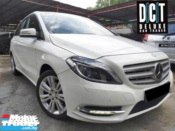 2015 MERCEDES-BENZ B-CLASS B200 TURBO FACELIFT LIKE NEW CONDITION  TIPTOP
