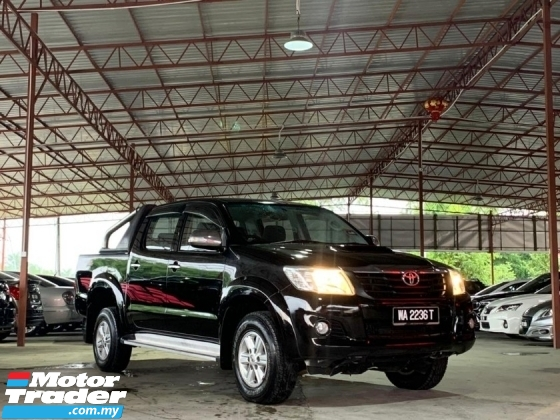 2014 TOYOTA HILUX DOUBLE CAB 2.5G (AT) TIP TOP CONDITION