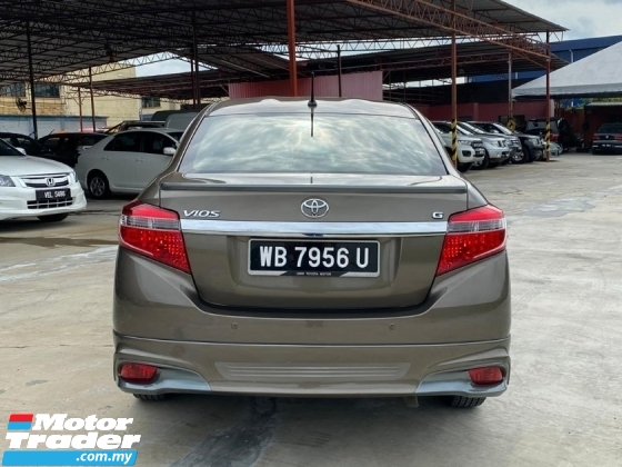 2015 TOYOTA VIOS 1.5G (AT) TIP TOP CONDITION LOOK LIKE NEW