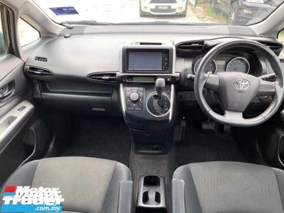 2010 TOYOTA WISH X AERO SPORTS PACKAGE