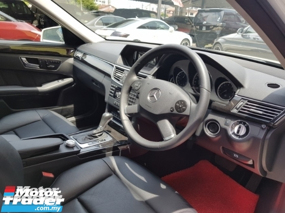 2010 MERCEDES-BENZ E-CLASS E250 CGI BLUE EFFICIENCY AVANTGARDE 125! EDITION