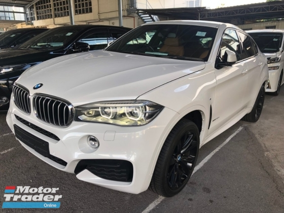 2015 BMW X6 X6 M Sport 3.0 Twin-Turbocharged Pre-Crash 360 Surround Camera HUD Head Up Display Harman Kardon Premium Sun Roof Memory Bucket Seat Paddle Shift Intelligent Full-LED Power Boot Bluetooth Connectivity Sport PLUS Drive Select Unreg