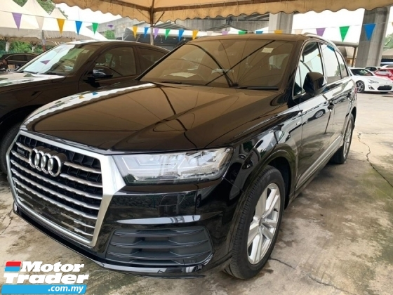 2016 AUDI Q7 3.0 TDI QUATTRO S-LINE UNREGISTER UK SPEC 7Seater